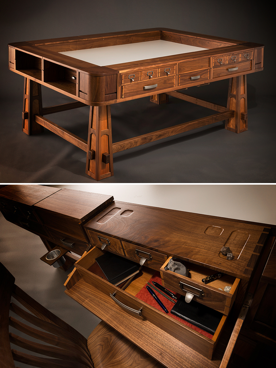 Dungeons Dragons Amp Design Geek Chic S Gorgeous Gaming Tables