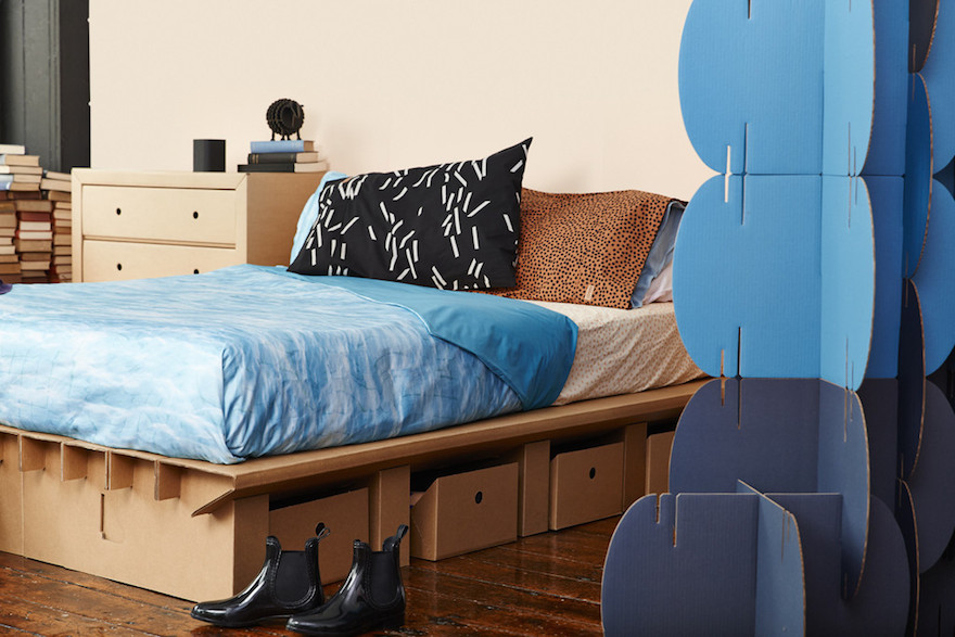 Cardboard Furniture For The Dorm Room And Beyond Core77