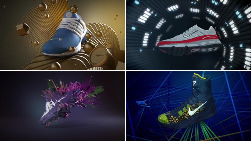 peligroso Supermercado seriamente  Sneakerhead's Delight: 40+ Years of Nike Kicks in a Genealogical Motion  Graphics Treatment - Core77