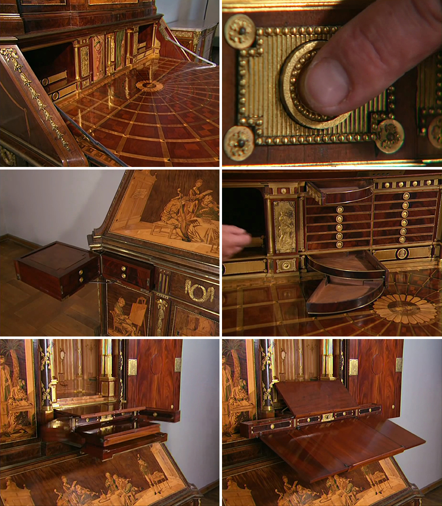 Это было сделано более 200 лет назад ... Смотрите, что происходит, когда вы начинаете открывать ящики.