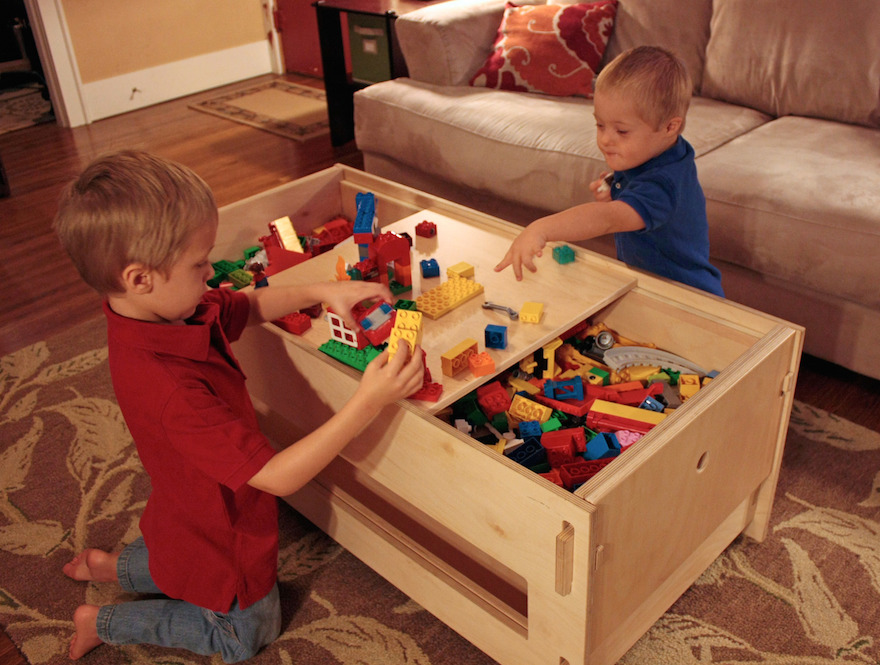 Klevr Furniture Makes A Number Of Interesting Products Including Shelves, A  Storage Top Desk And A Lego Storage Table For Kids.