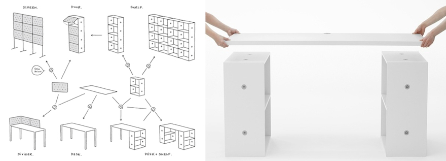Organizing Made Easier: Furniture Designs for Tool-Free