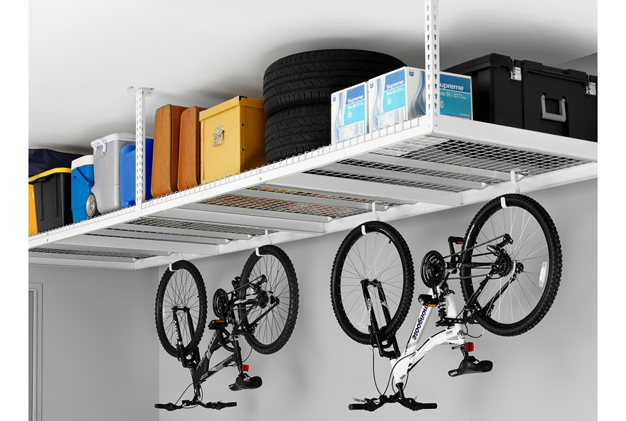 Designing for an Organized Garage Part 1 Using the Ceiling & Designing for an Organized Garage Part 1: Using the Ceiling - Core77