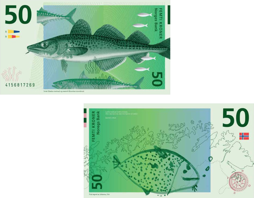 The Best Idea From Norway S Currency Design Compeion Let Kids Money Core77
