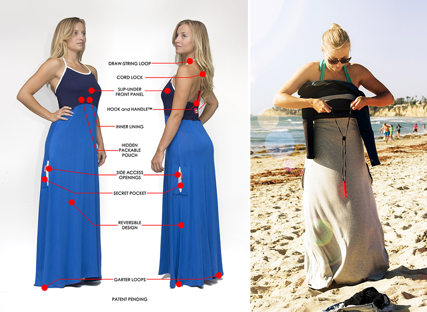 This is how you can change your dress in public without