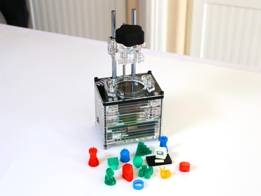 Smaller 3D printers