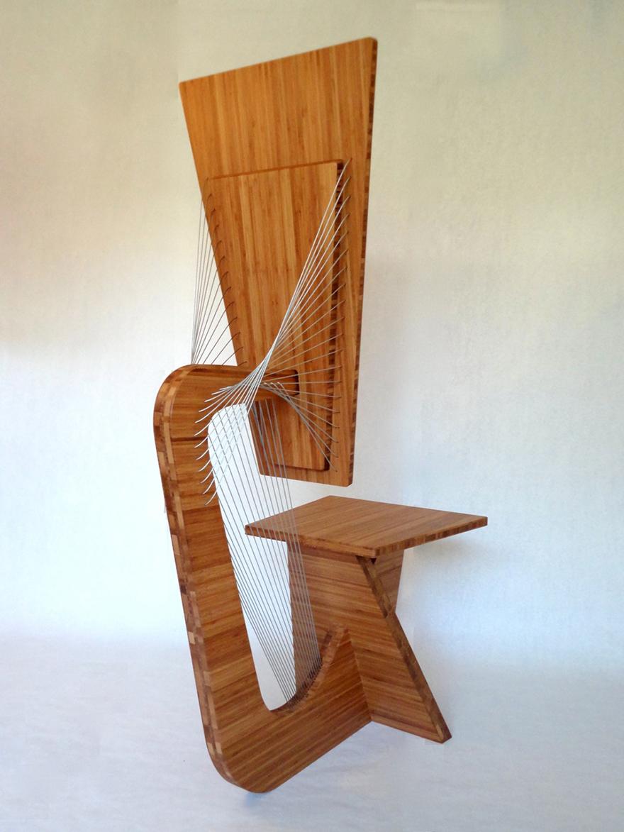 Robby Cuthbert\'s Furniture Designs: Suspending Disbelief - Core77