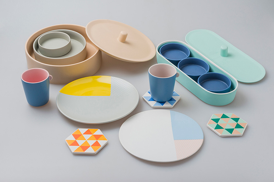 Core77 & In the Details: Chi and Chiu0027s Astronomy-Inspired Tableware ...