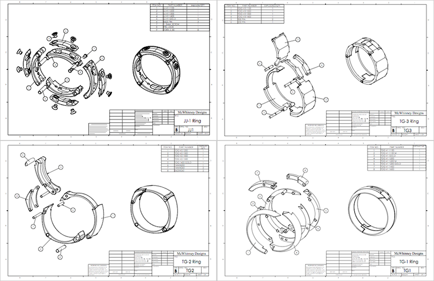 Jeff mcwhinneys intelligent active wedding rings core77 jeff mcwhinneys intelligent active wedding rings ccuart Images