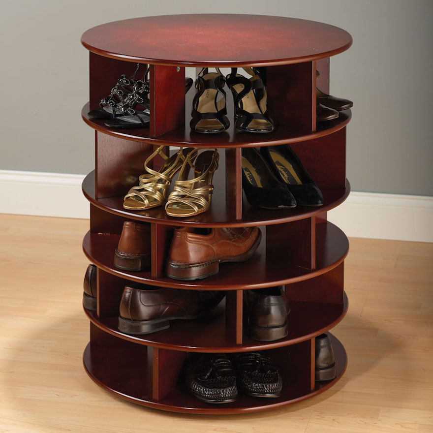 Bon This Shoe Tower Is Basically A Lazy Susan For Shoes, And Thatu0027s A Pretty  Nice Idea. Itu0027s Not Totally Clear, Though, Whether Most Menu0027s Shoes Are  Going To ...