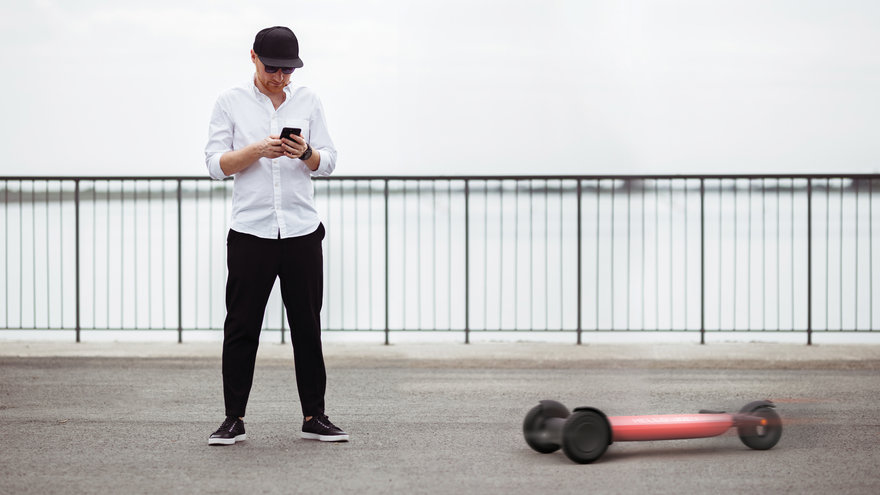 Reader Submitted: Already Tired of High Maintenance Shared Electric Scooters? This Autonomous Version Takes Care of Itself so You Don t Have To