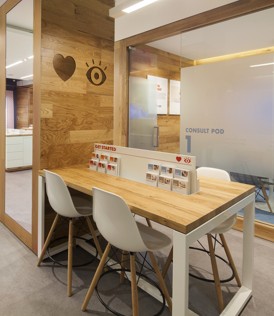 OPSM In Sight Center - by Ziba Design / Core77 Design Awards