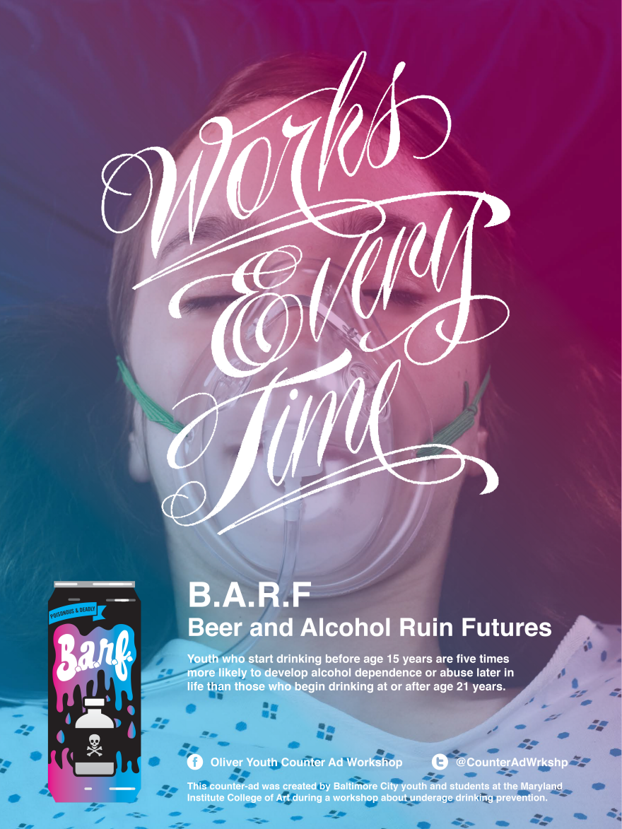 Beer Ruin Core77 Center Mica By - Social Futures Barf And Awards For Design Alcohol