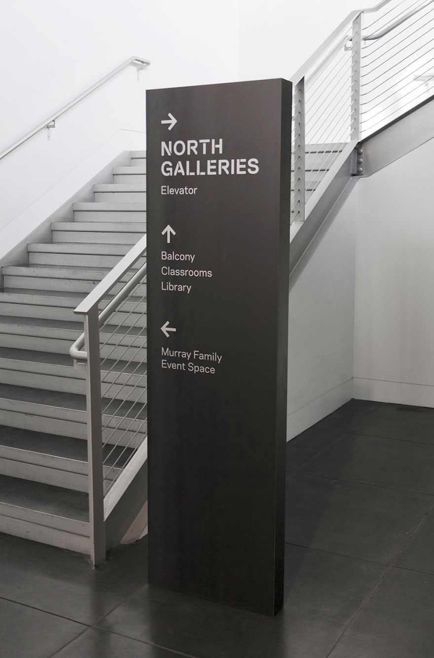 Design By: Tacoma Art Museum Signage And Wayfinding