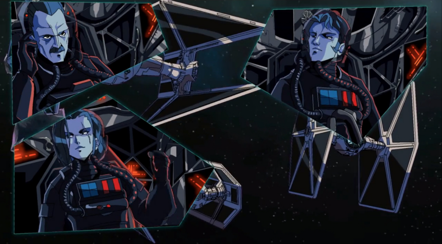 Kick ass tie fighter short animation core77 an error occurred ccuart Image collections