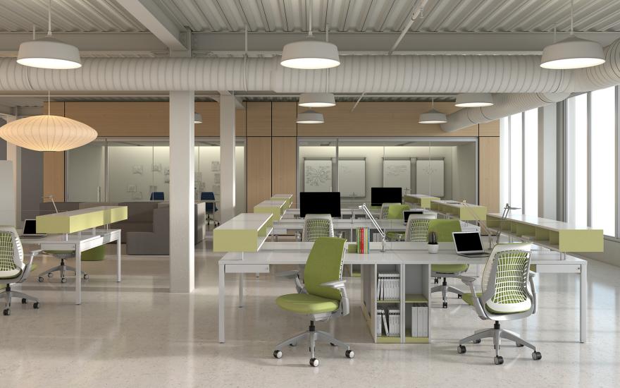 allsteel mimeo with intelliform by studio fifield core77 design