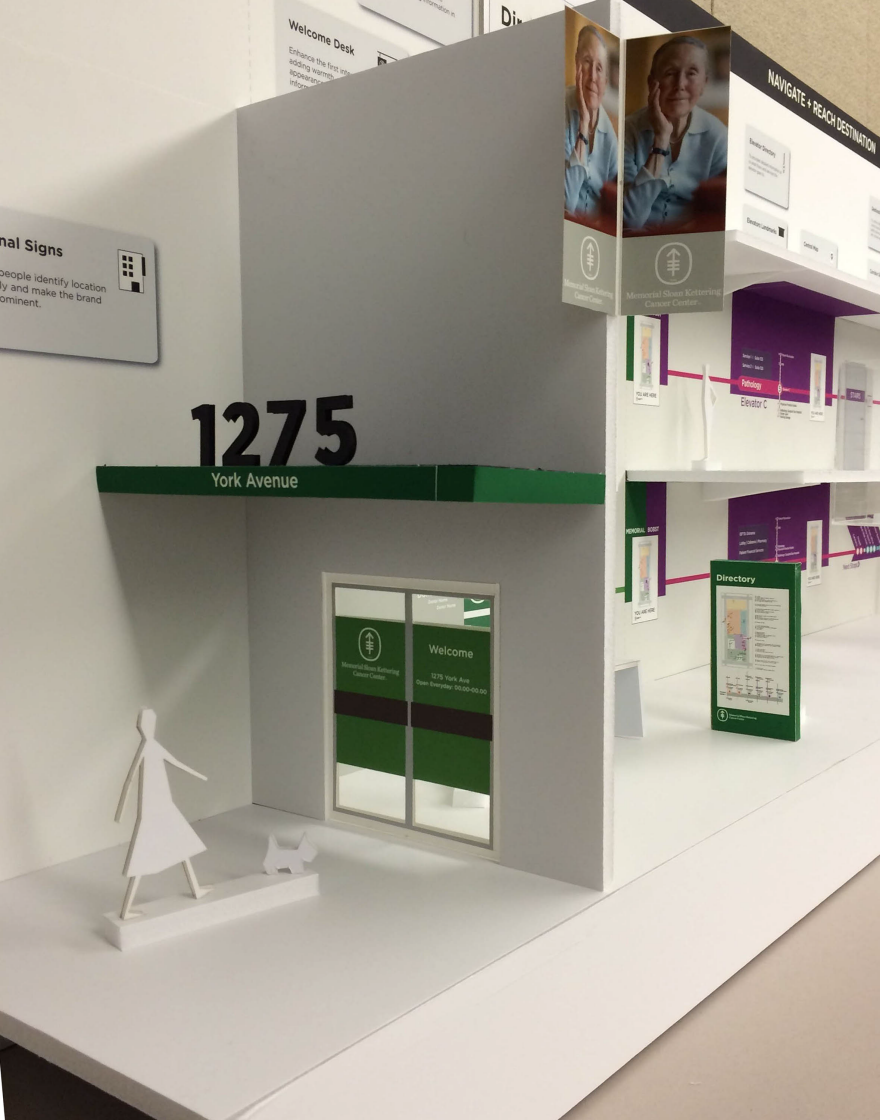Wayfinding for Memorial Sloan Kettering Cancer Center - by
