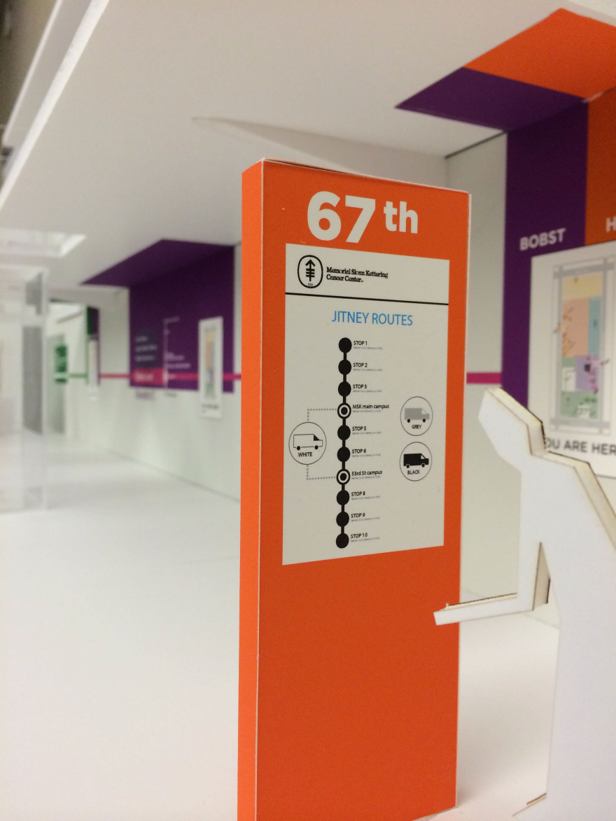 Wayfinding for Memorial Sloan Kettering Cancer Center - by Anushree