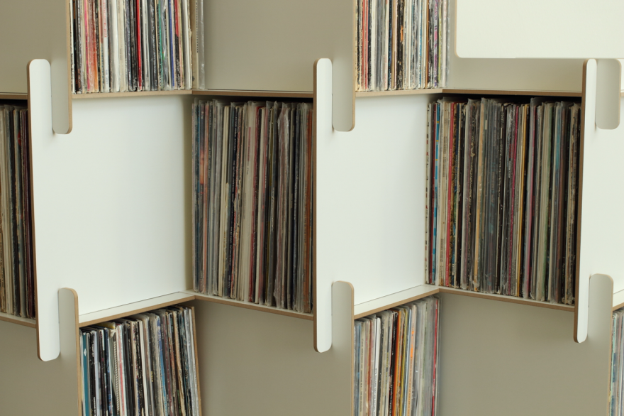 Grow: Fantastic Modular Shelving For Vinyl And More