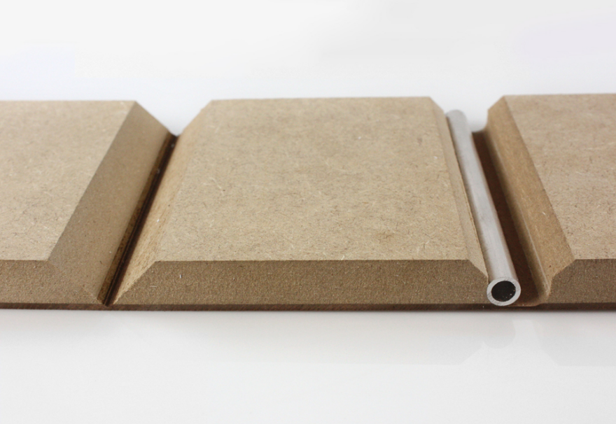 Plywood Corner Protector ~ Leather core plywood