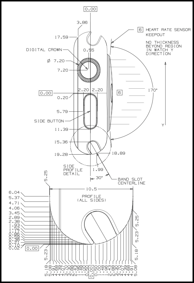 apple watch blueprints schematics