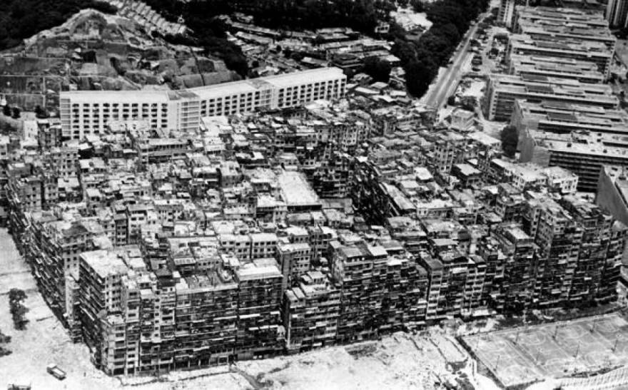 The Original Real Life Dystopian Cityscape Of Kowloon