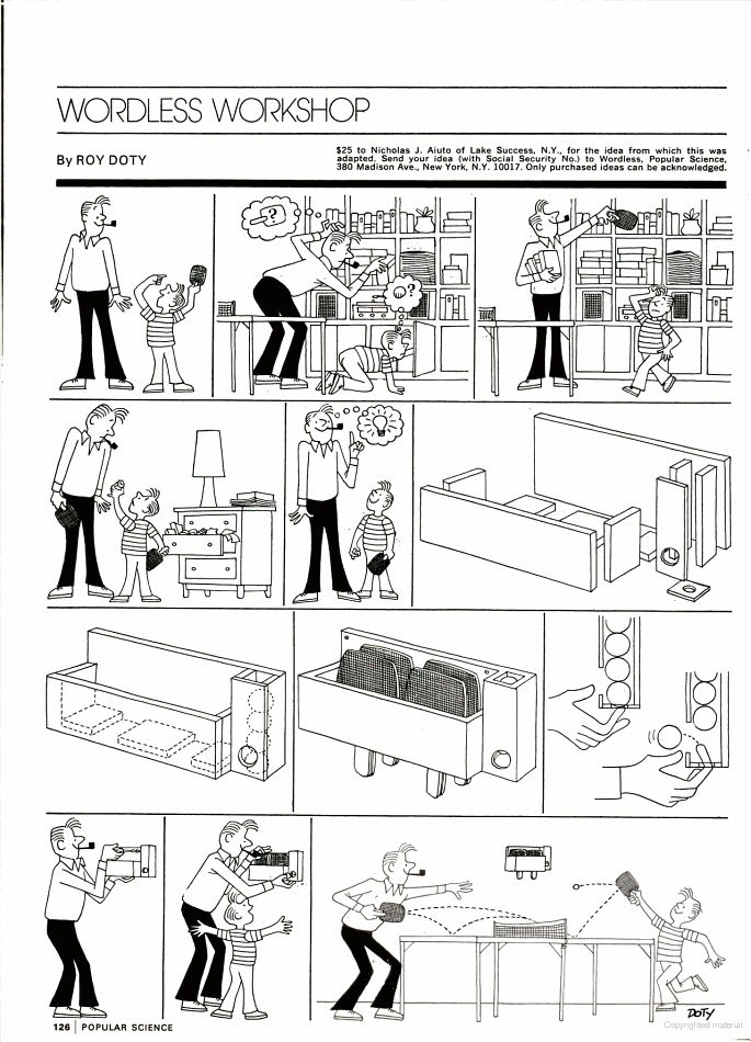 strip words Comic without