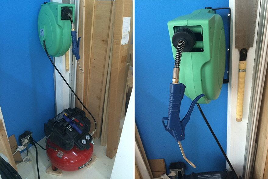 Smart Design For A Diy Air Compressor Cable Reel Core77