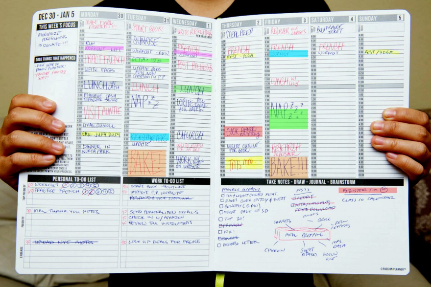 picture about Time and to Do Planner known as Year Control Equipment: Weekly Plannersnbsp; - Main77