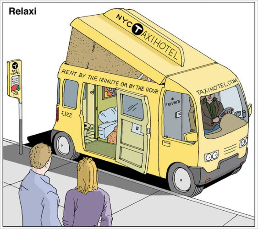 """Crazier Examples Of What New York City's """"Taxi Of Tomorrow"""