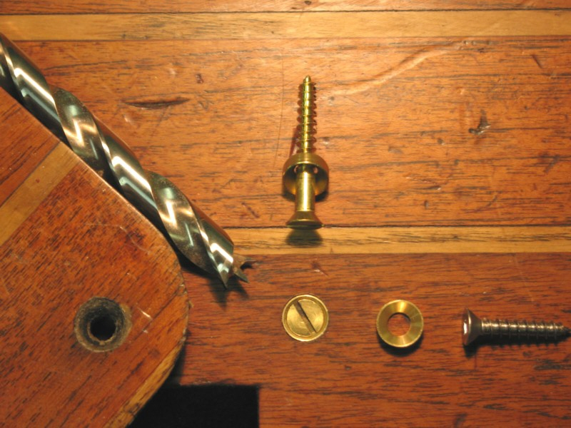 Stronger And Prettier Fastening In Wood With Countersunk