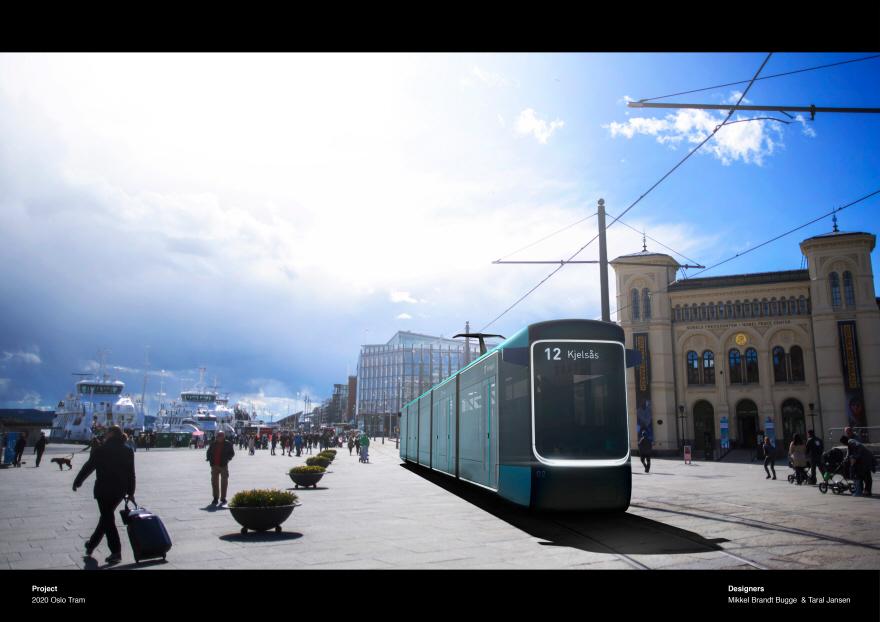 Mutige Straßenbahn hielt an — foto 9