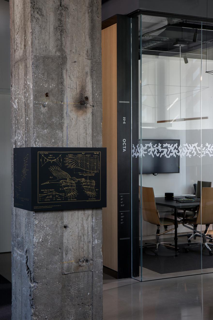 Bloomberg San Francisco Tech Hub Environmental Graphics