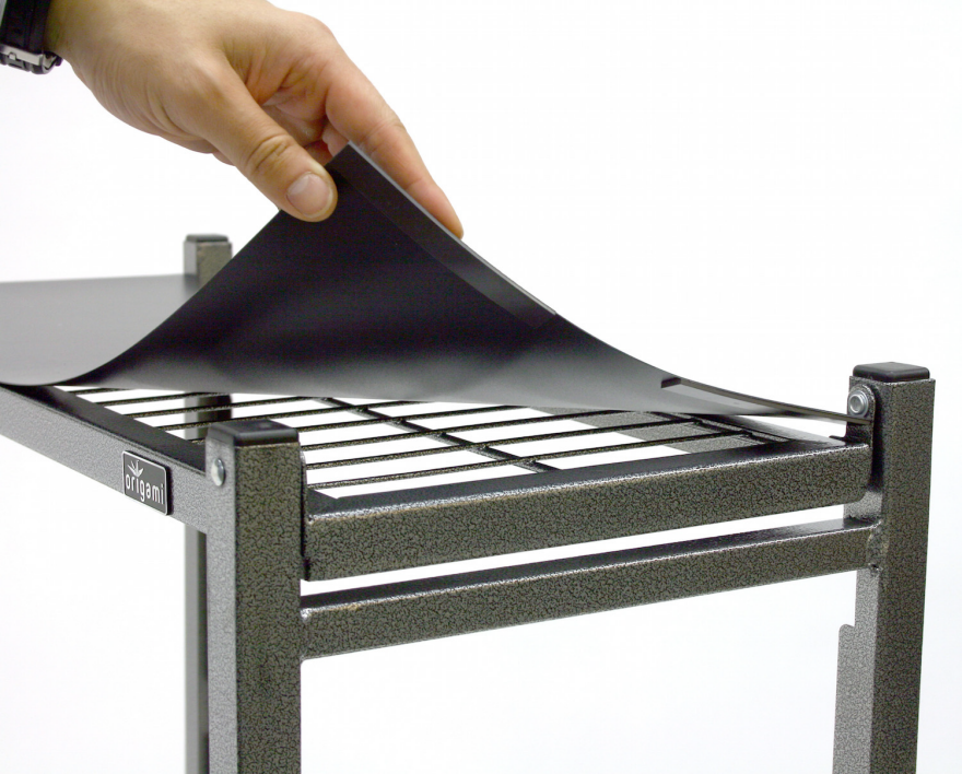 Origami: Folding Racks That Are Super Simple To Assemble   Core77