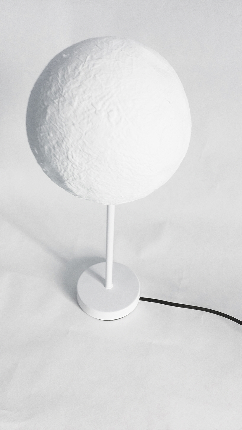 These Paper Moon Lamps Cast Shadows Based On Material Thickness Core77