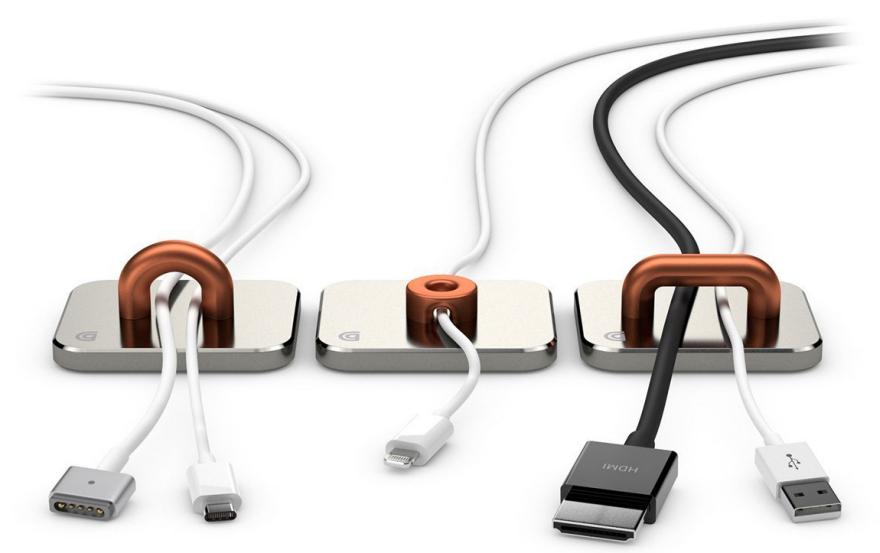 11 Ways to Control Desktop Cables - Core77