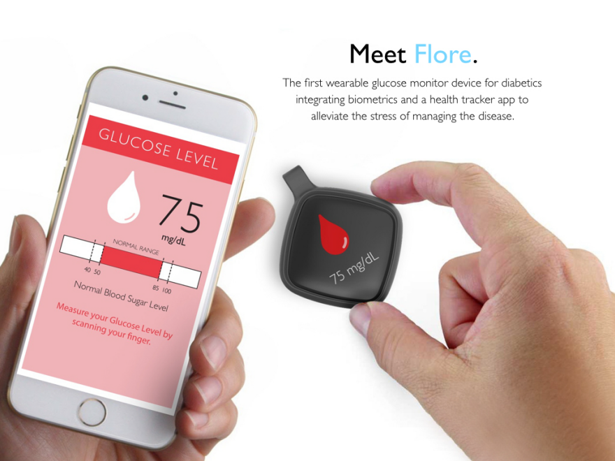 flore the wearable for all diabetics by hector silva core77