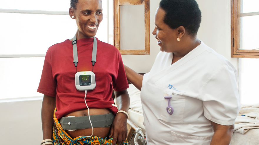Moyo Fetal Heart Rate Monitor By Laerdal Global Health