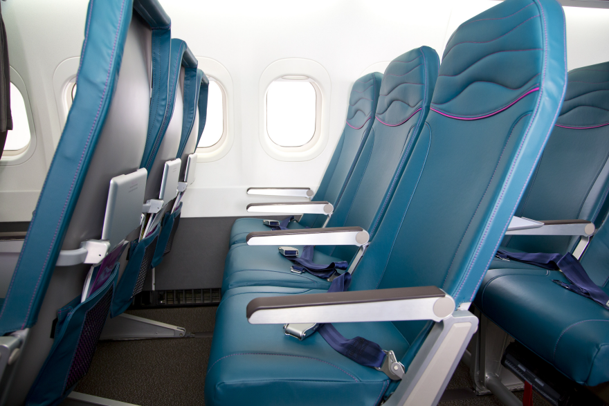 Radical New First Class And Economy Cabins For Hawaiian
