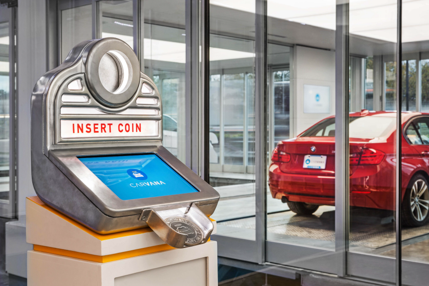Carvana Car Vending Machine - by Carvana / Core77 Design Awards