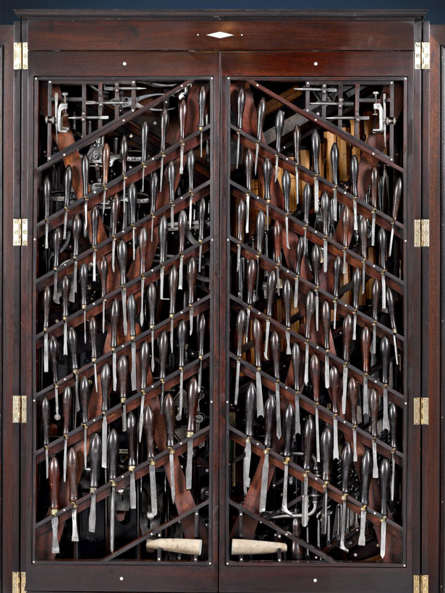 This Is What A 150 000 Antique Tool Storage Case Looks