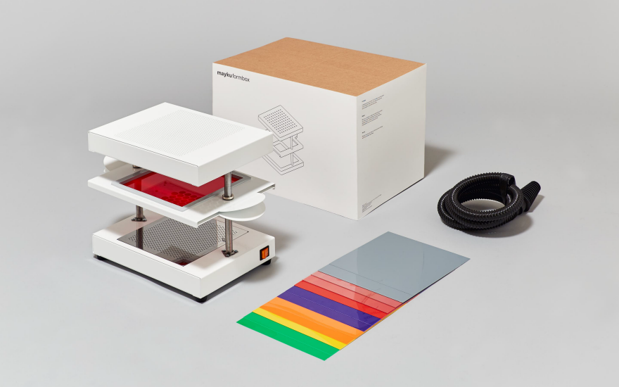 Formbox A Faster Cooler Vacuum Former For The Modern
