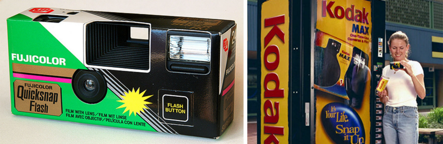 Memories Not Disposable: A History of Single-Use Cameras