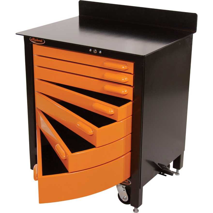 Swivel Storage Shows Us How To Build Tool Cabinet Drawers