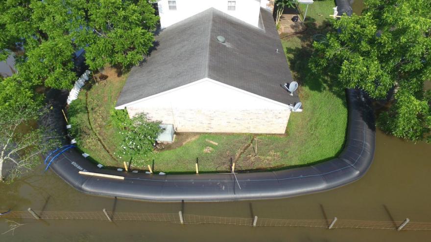 Man Saves Home From Flood Using AquaDam - Core77