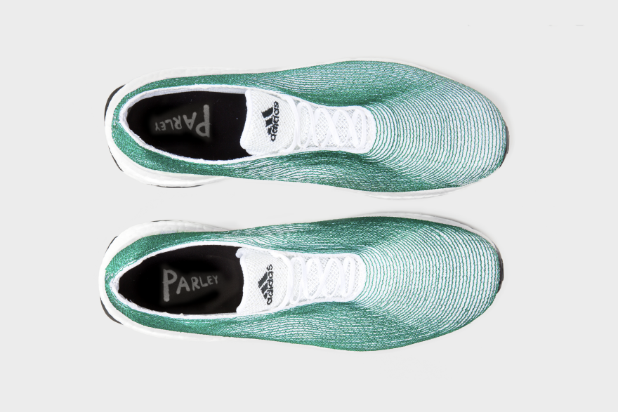 finest selection ea98f 92b95 How to Make Sneakers Out of Trash Designing the Adidas x Parley Ocean Shoe  - Core77