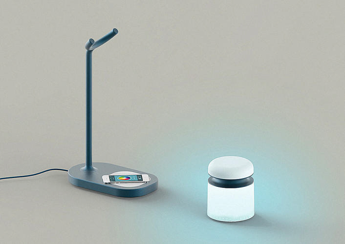 To Turn On This Lamp You Ll First Have To Surrender Your Smartphone Core77