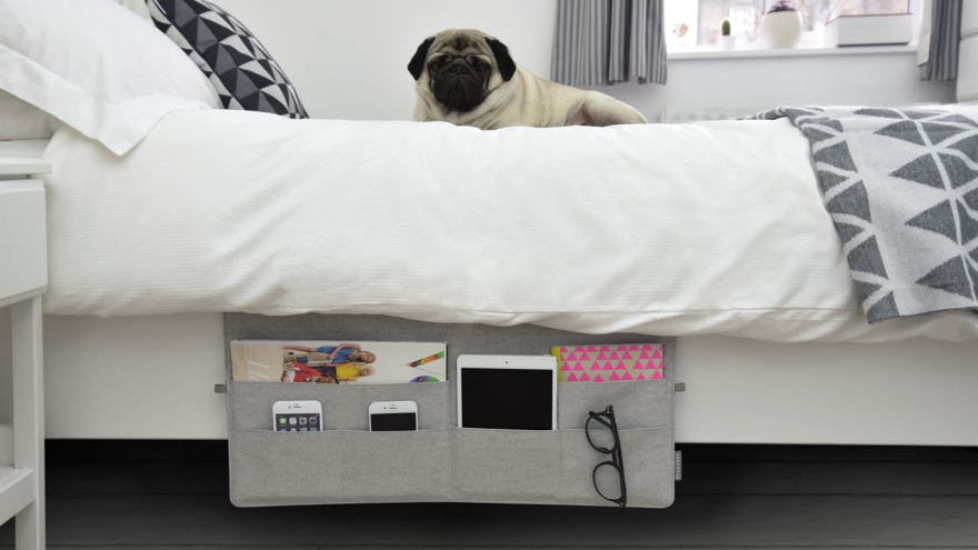 No Nightstand? 9 Products For Bedside Organization