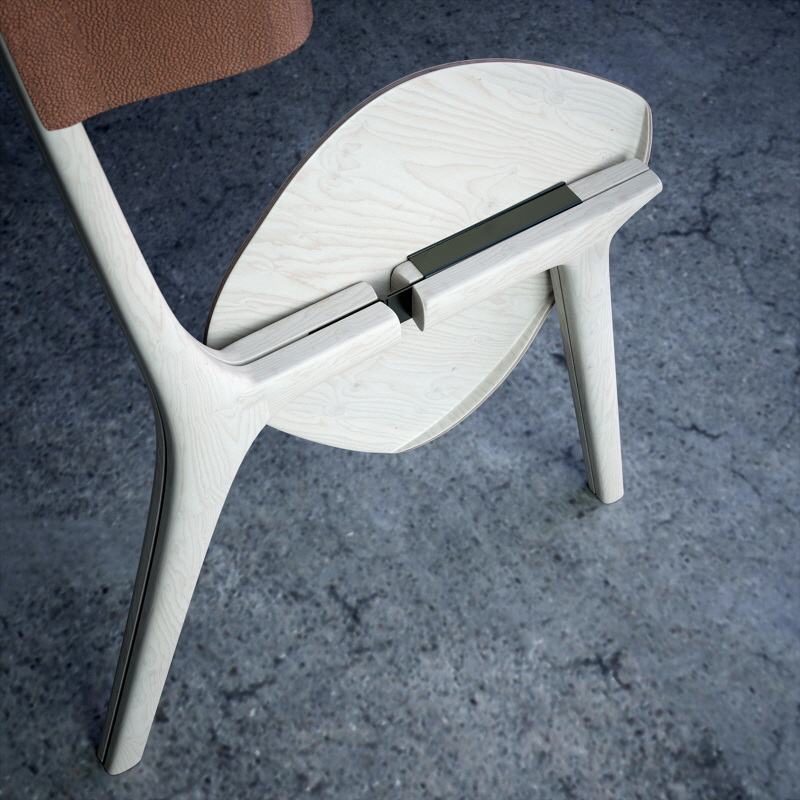 Superb An Innovative Design For A Folding Chair Core77 Gamerscity Chair Design For Home Gamerscityorg