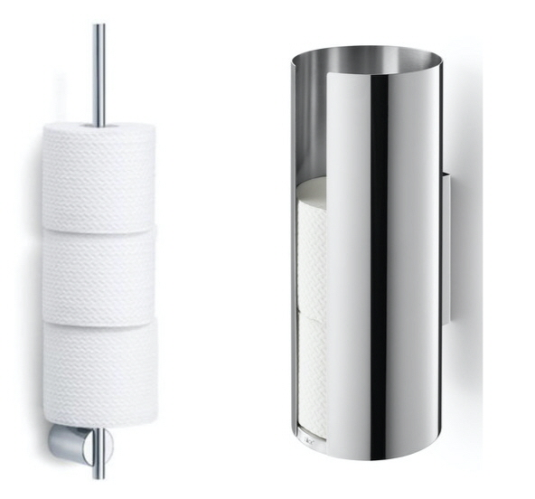 12 Ways To Organize Spare Toilet Paper Core77
